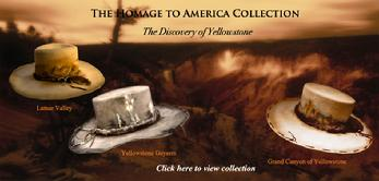 Yellowstone Homage to America Hat Collection